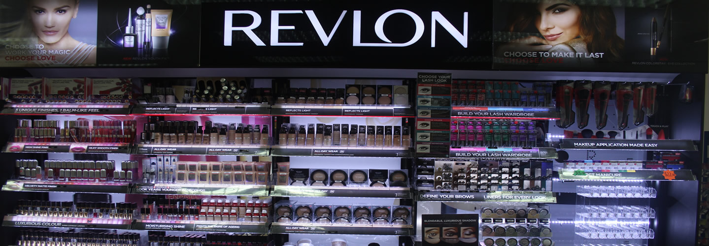 Revlon Make Up Section At Wairau Pharamcy