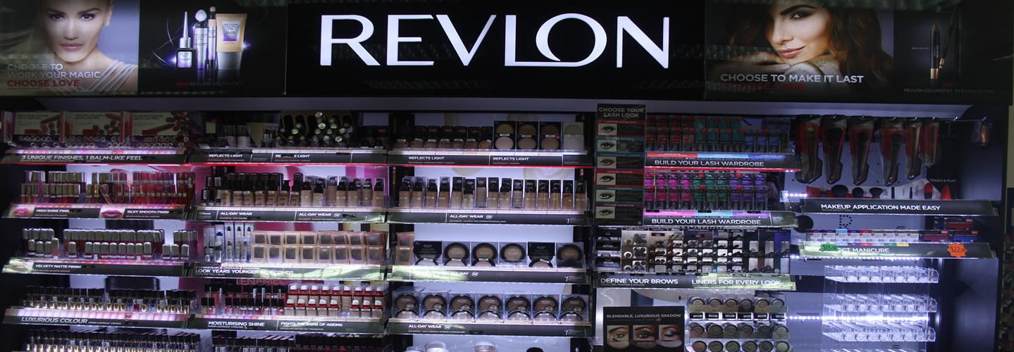 Revlon Make Up Section At Wairau Pharamcy