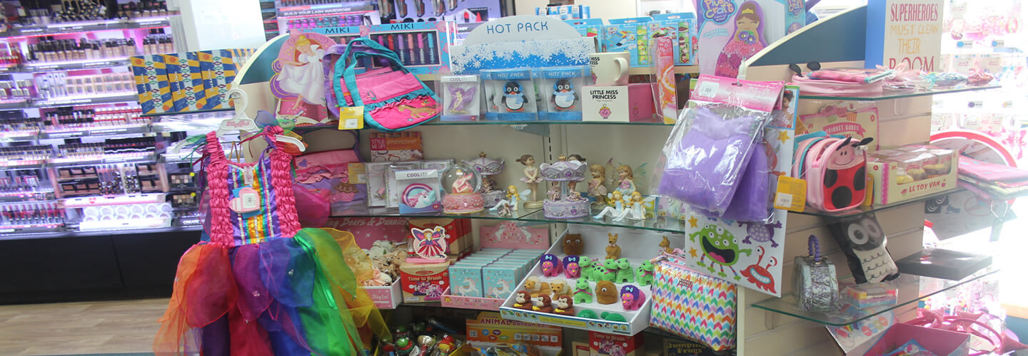Childrens Gift Section At Wairau Pharamcy