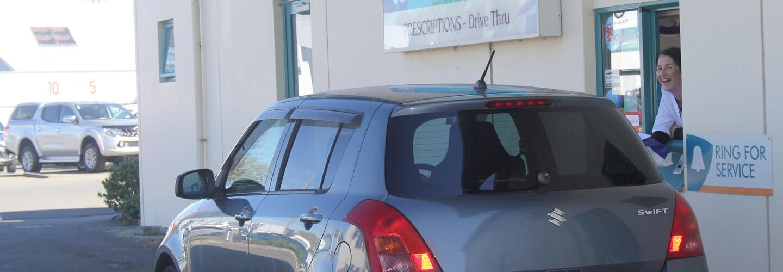 Drive Thru Facilities At Wairau Pharmacy