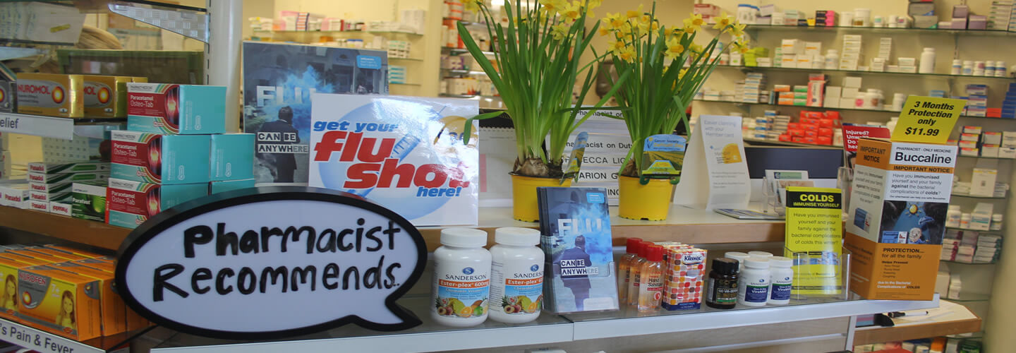 Pharmacist Recommended Products Section At Wairau Pharamcy