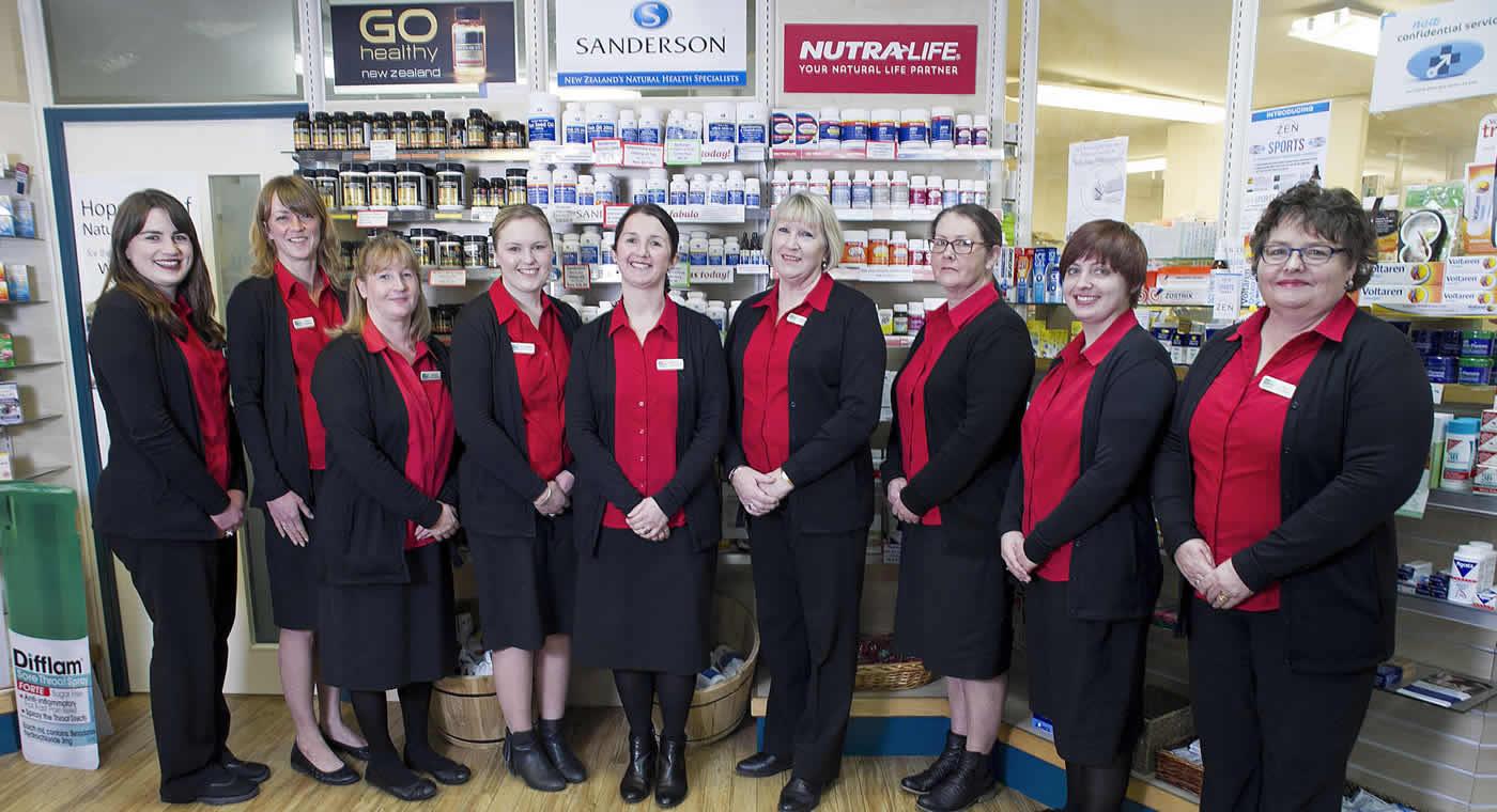 Team Members At Wairau Pharmacy